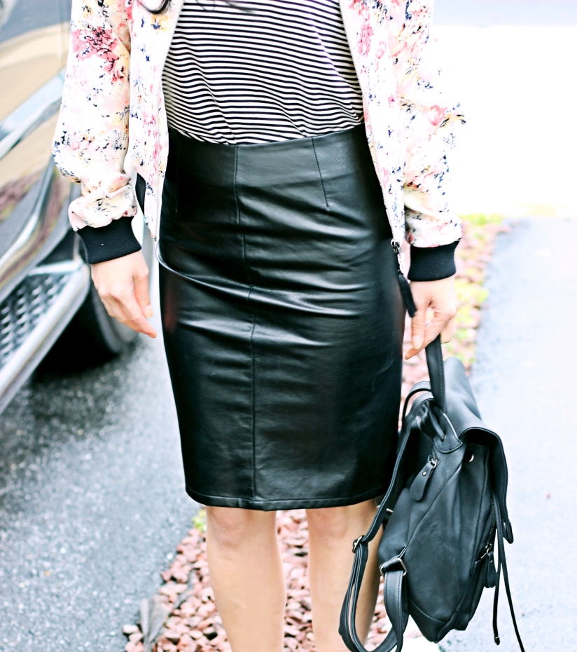 Faux Leather Skirt, Work Appropriate?