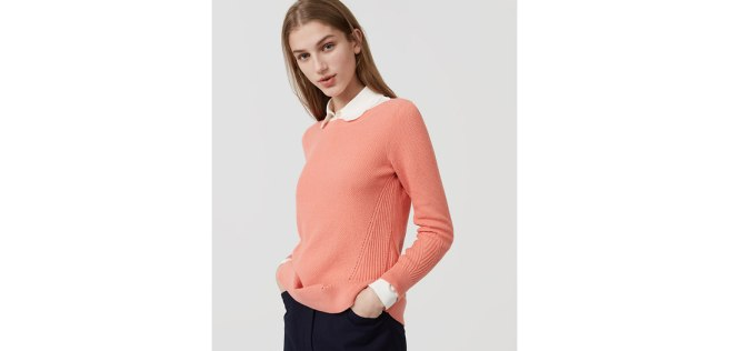 Stitchy Boatneck Sweater