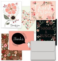 Thank you Potpourri Cards