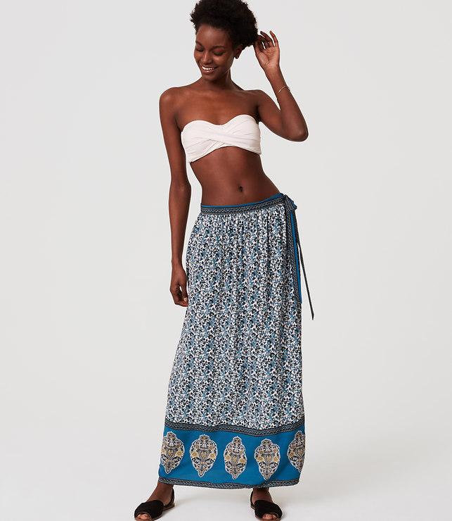 Floral Skirt - LOFT