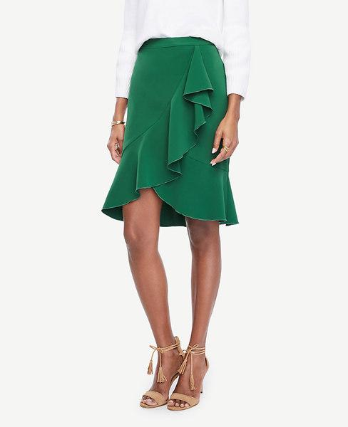 Ruffle Skirt _Ann Taylor